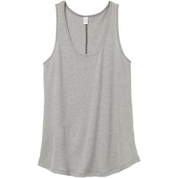 Abbigliamento Donna Top / T-shirt senza maniche Alternative Apparel AT012 Grigio