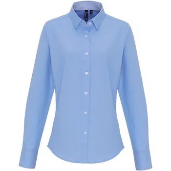 Abbigliamento Donna Camicie Premier PR338 Azzurro