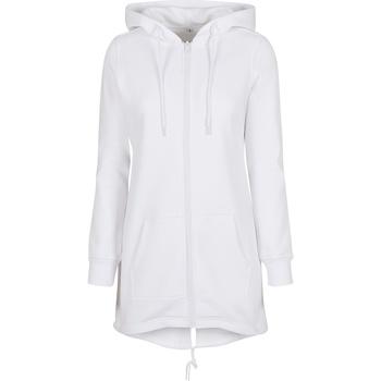 Abbigliamento Donna Felpe Build Your Brand BY148 Bianco