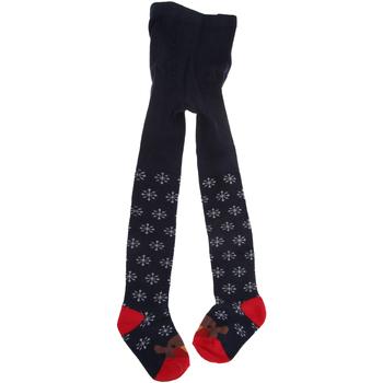 Biancheria Intima Bambina Collants e calze Universal Textiles  Blu navy