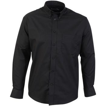Abbigliamento Uomo Camicie maniche lunghe Absolute Apparel  Nero