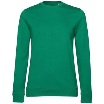 Abbigliamento Donna Felpe B&c WW02W Verde kelly