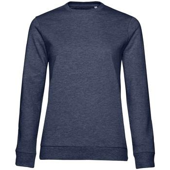 Abbigliamento Donna Felpe B&c WW02W Blu