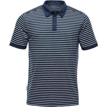Abbigliamento Uomo Polo maniche corte Stormtech TGP-1 Blu navy/Bianco