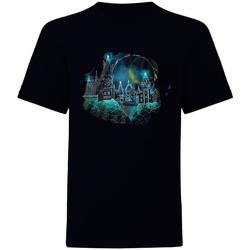 Abbigliamento T-shirt maniche corte Harry Potter  Nero