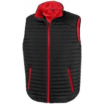 Abbigliamento Giacche Result R239X Nero/Rosso