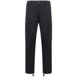 Abbigliamento Pantalone Cargo Front Row FR625 Blu navy