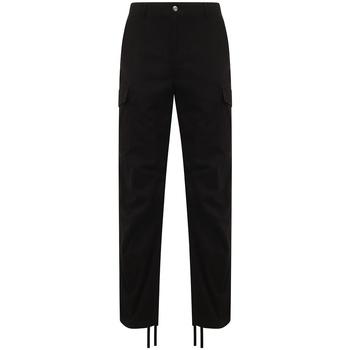 Abbigliamento Pantalone Cargo Front Row FR625 Nero