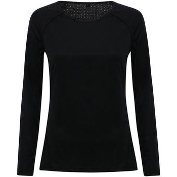 Abbigliamento Donna T-shirts a maniche lunghe Tridri TR040 Nero