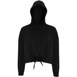 Abbigliamento Donna Felpe Tridri TR085 Nero