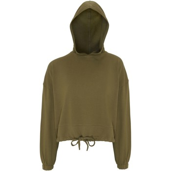 Abbigliamento Donna Felpe Tridri TR085 Verde Oliva