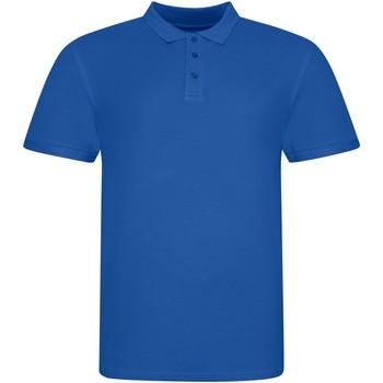 Abbigliamento Polo maniche corte Awdis JP100 Blu reale