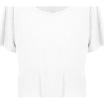 Abbigliamento Donna T-shirt maniche corte Ecologie EA02F Bianco