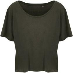 Abbigliamento Donna T-shirt maniche corte Ecologie EA02F Verde