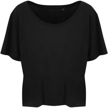 Abbigliamento Donna T-shirt maniche corte Ecologie EA02F Nero