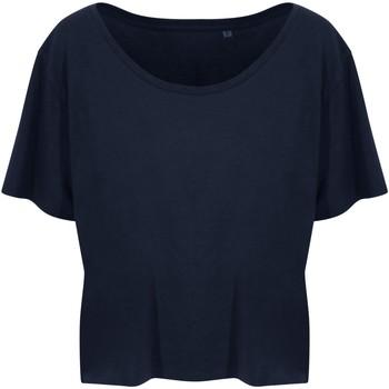 Abbigliamento Donna T-shirt maniche corte Ecologie EA02F Blu navy
