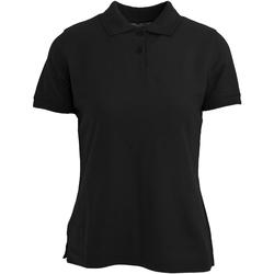 Abbigliamento Donna Polo maniche corte Absolute Apparel  Nero