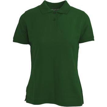 Abbigliamento Donna Polo maniche corte Absolute Apparel  Verde bottiglia