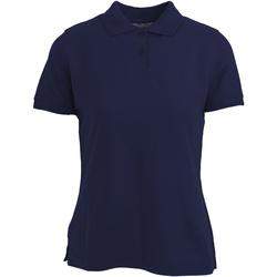 Abbigliamento Donna Polo maniche corte Absolute Apparel  Blu navy