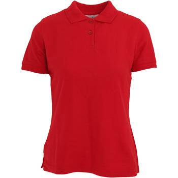Abbigliamento Donna Polo maniche corte Absolute Apparel  Rosso