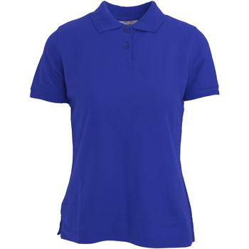 Abbigliamento Donna Polo maniche corte Absolute Apparel  Blu reale