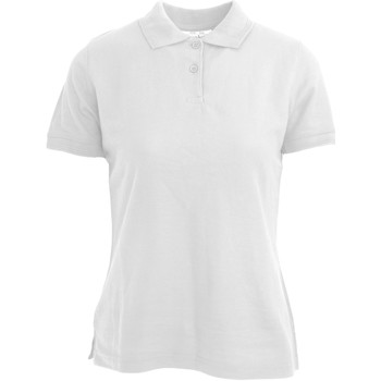 Abbigliamento Donna Polo maniche corte Absolute Apparel  Bianco