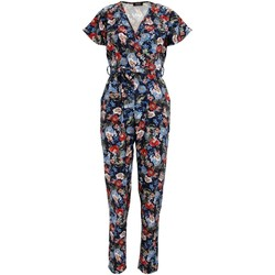 Abbigliamento Donna Tuta jumpsuit / Salopette Girls On Film  Blu navy