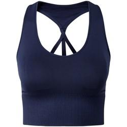 Abbigliamento Donna Reggiseno sportivo Tridri TR208 Blu navy