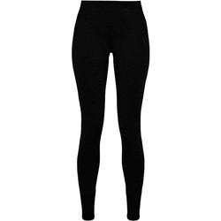 Abbigliamento Donna Leggings Build Your Brand BY099 Nero