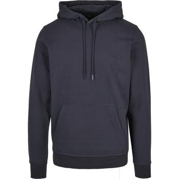 Abbigliamento Uomo Felpe Build Your Brand BB001 Blu navy