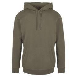 Abbigliamento Uomo Felpe Build Your Brand BB001 Verde