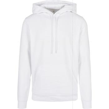 Abbigliamento Uomo Felpe Build Your Brand BB001 Bianco