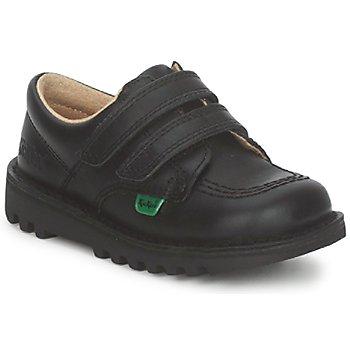 Scarpe Unisex bambino Sneakers basse Kickers KICK LO VELCRO Nero