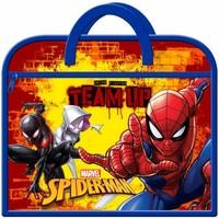 Borse Unisex bambino Cartelle Spiderman  Rosso