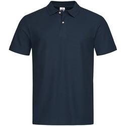 Abbigliamento Uomo Polo maniche corte Stedman  Blu notte