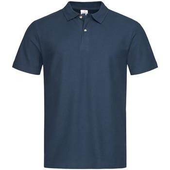 Abbigliamento Uomo Polo maniche corte Stedman  Blu navy