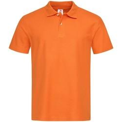 Abbigliamento Uomo Polo maniche corte Stedman  Arancio
