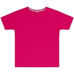Abbigliamento Unisex bambino T-shirt maniche corte Sg SGTEEK Rosa Scuro