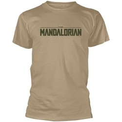 Abbigliamento T-shirt maniche corte Star Wars: The Mandalorian  Beige