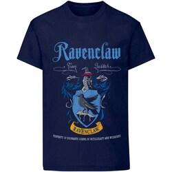 Abbigliamento T-shirt & Polo Harry Potter  Blu navy