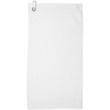 Casa Asciugamano e guanto esfoliante Towel City PC3892 Bianco
