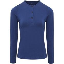 Abbigliamento Donna Top / Blusa Premier PR318 Indaco