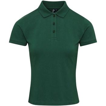 Abbigliamento Donna T-shirt & Polo Premier PR632 Verde Bottiglia