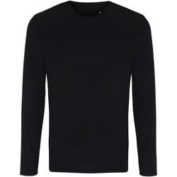Abbigliamento Uomo T-shirts a maniche lunghe Tridri TR050 Nero