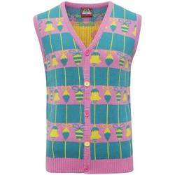Abbigliamento Gilet / Cardigan Christmas Shop CJ009 Multicolore