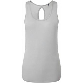 Abbigliamento Donna Top / T-shirt senza maniche Tridri TR044 Grigio