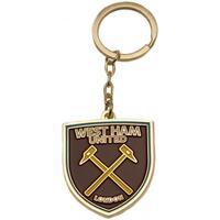 Accessori Portachiavi West Ham United Fc  Marrone