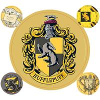 Casa Adesivi Harry Potter Taille unique Giallo