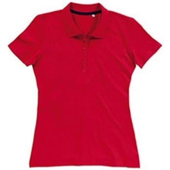 Abbigliamento Donna T-shirt & Polo Stedman Stars  Rosso Cremisi