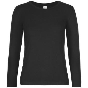 Abbigliamento Donna T-shirts a maniche lunghe B And C TW08T Nero